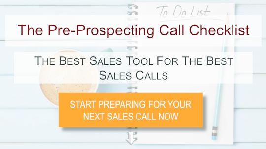 Download The Pre-Prospecting Call Checklist