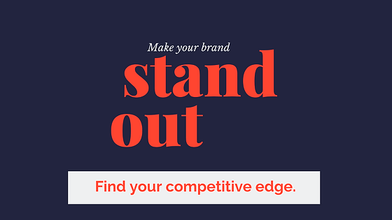 Give your brand a competitive advantage with an online analysis.