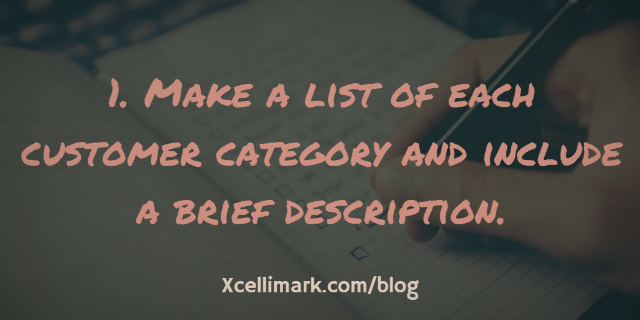 Making A List of Your Target Buyers | Xcellimark Blog