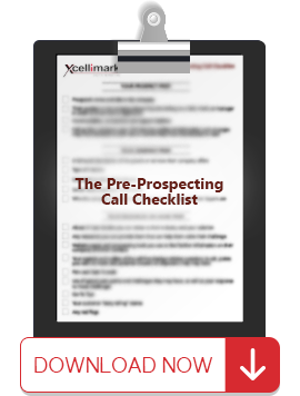 The Pre-Prospecting Call Checklist