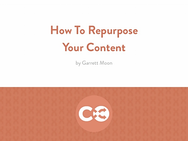 50 Ways to Repurpose Your Content by CoSchedule via SlideShare
