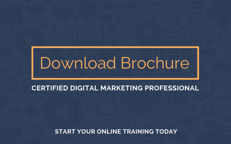 Download the Certified Digital Marketing Professional Online Training Brochure | Xcellimark Training
