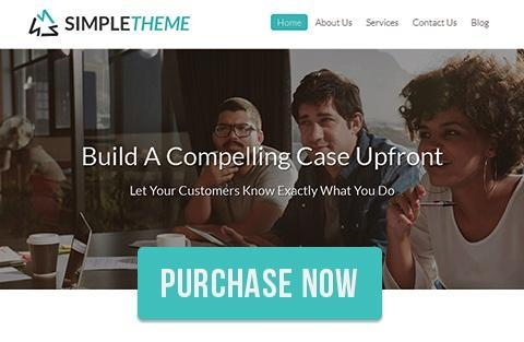 Purchase SimpleTheme Now