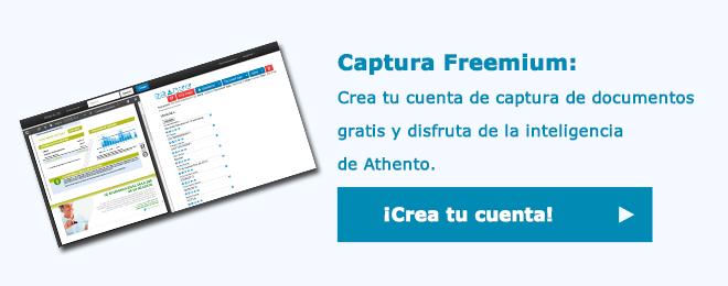 Crea tu cuenta freemium de captura de documentos
