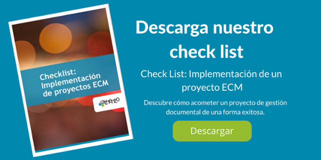 Descarga el check list de implementación de un proyecto de gestión documental