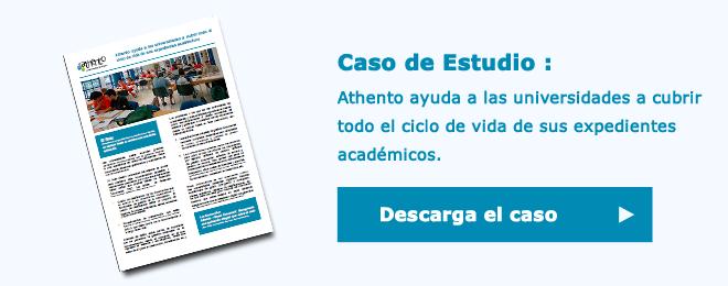 Descarga este caso de estudio y descubre cómo Athento puede ayudar a universidades como la tuya