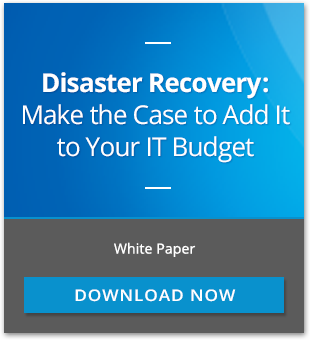 Disaster Recovery: The budget item you cannot afford to cut