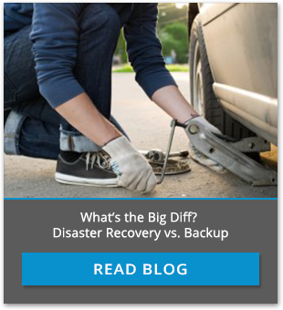 Disaster Recovery vs Backup
