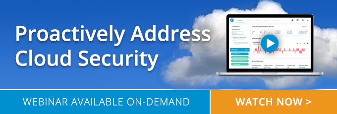Proactively Address Cloud Security