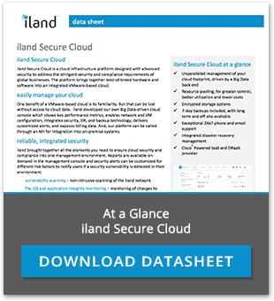 At a Glance, iland Secure Cloud