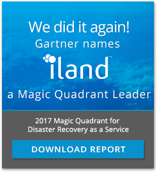 iland Named a Leader by Gartner for DRaaS