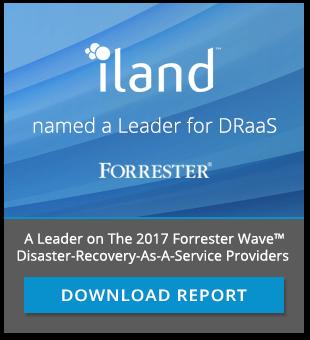 Forrester Wave DRaaS Leader 2017 Report