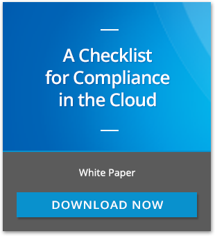 A Checklist for compliance in the cloud