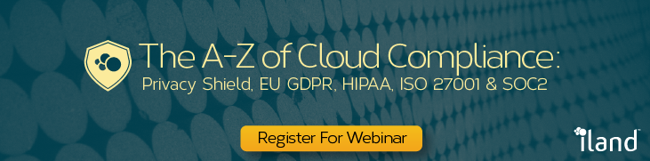 Register for the webinar on the A-Z of Cloud Compliance