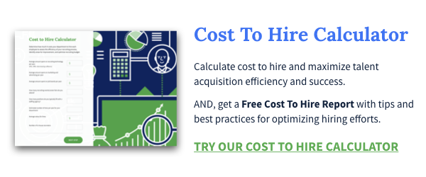 Try Our Cost To Hire Calculator And Get A Free Report