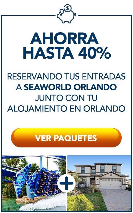 Paquetes a SeaWorld Orlando - Vacaciones a Orlando