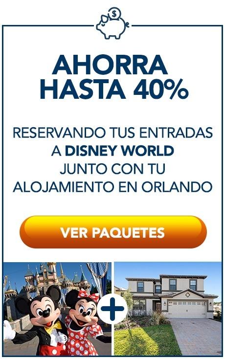 Paquetes a Disney World - Vacaciones a Orlando