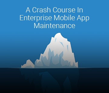 eBook - A crash course in enterprise mobile app maintenance