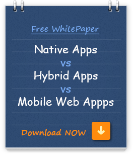 Native mobile app, hybrid mobile app, mobile web apps