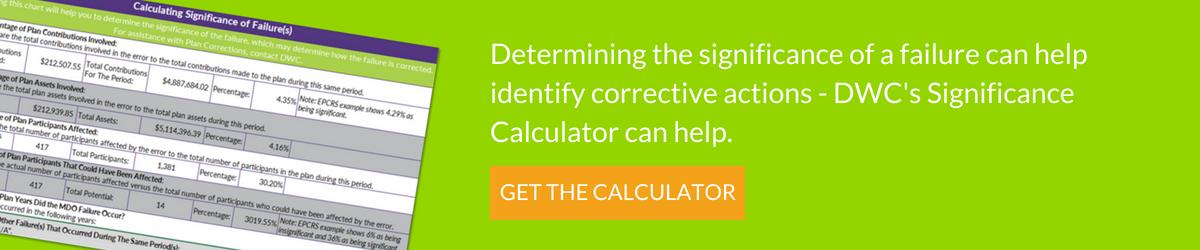 Download DWC's Significance Calculator Free!
