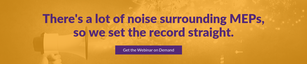 "Get the Webinar ""MEPs: Dialing Down the Noise"" on Demand"
