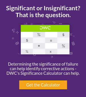 Download DWC's Significance Calculator Today!
