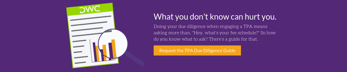 Request a copy of DWC's TPA Due Diligence Guide