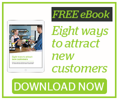 Free eBook 8 ways to Attract New Customers