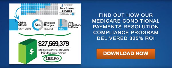 Medicare Conditional Payments Resolution Compliance Program