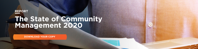 Download your copy of The State of Community Management Report 2020