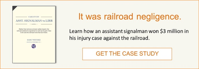 signalman wins $3 million case against railroad attorney Marc Wietzke
