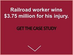 railroad worker wins $3.75 million for eye injury attorney Marc Wietzke