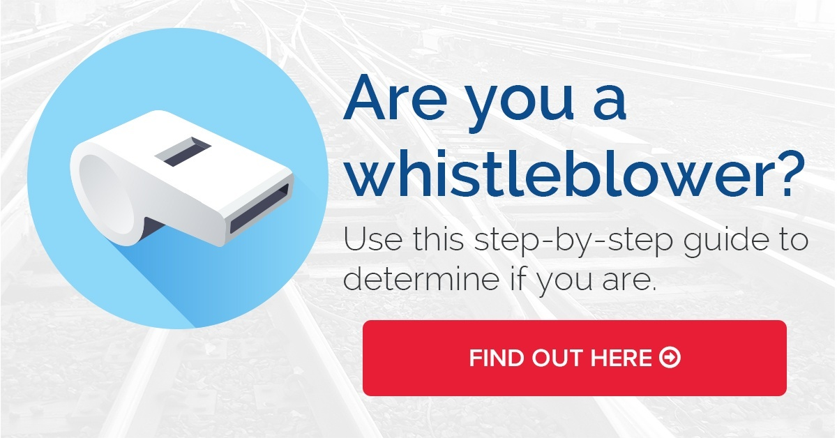 how do you know if you're a whistleblower railroad