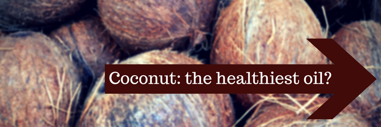 Coconut oil healthy alternative cooking mct fatty acids