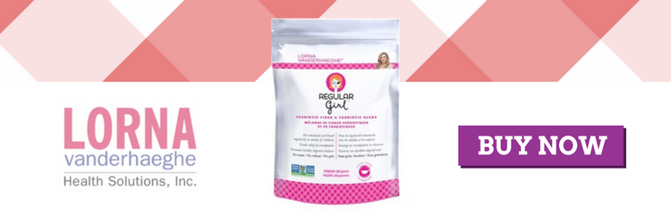 Lorna Regular girl digestion fiber probiotics prebiotics