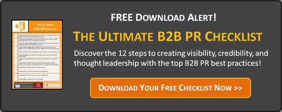 Free Download Alert! The Ultimate B2B PR Checklist