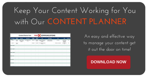 Download Your FREE Content Planner End your content planning headaches Now!