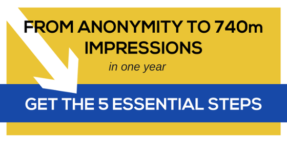 How to Go From Anonymity to Industry Icon