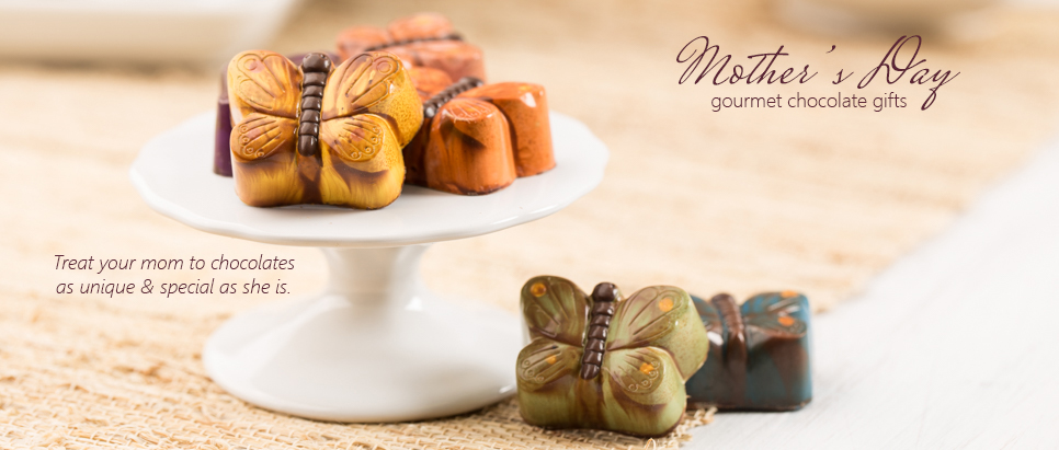 Mother's Day gourmet chocolate gift ideas