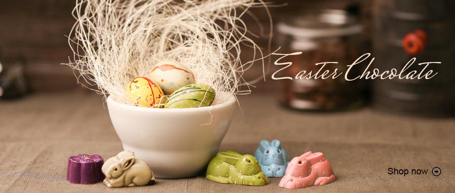 Gourmet Easter Chocolate Bunny & Egg