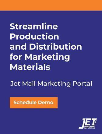 Schedule a Jet Mail Marketing Portal