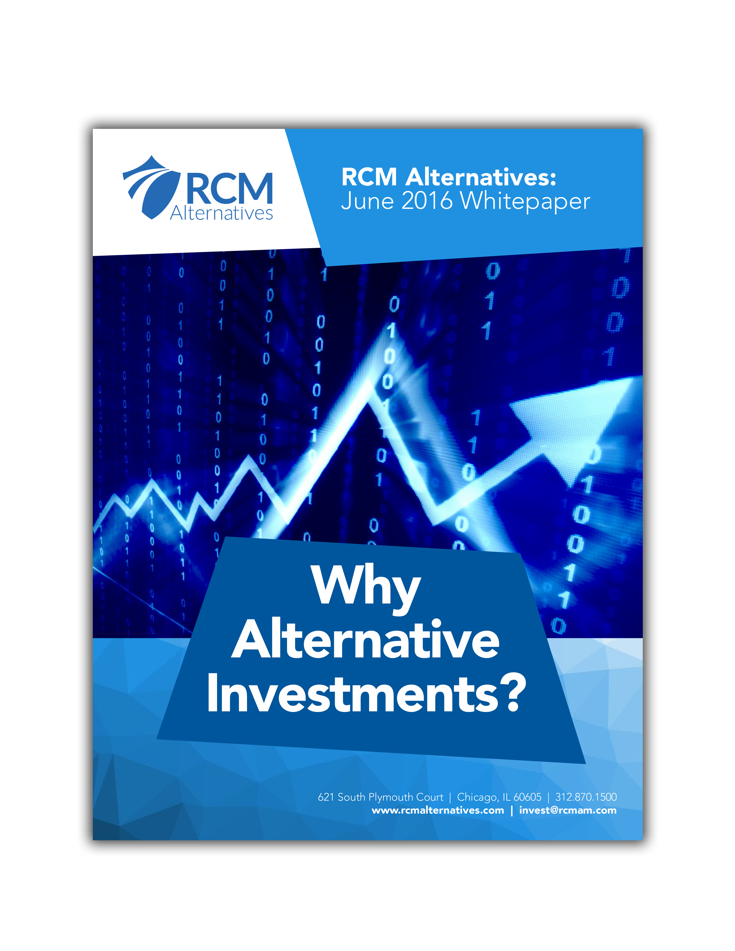 WHY ALTERNATIVE INVESTMENTS