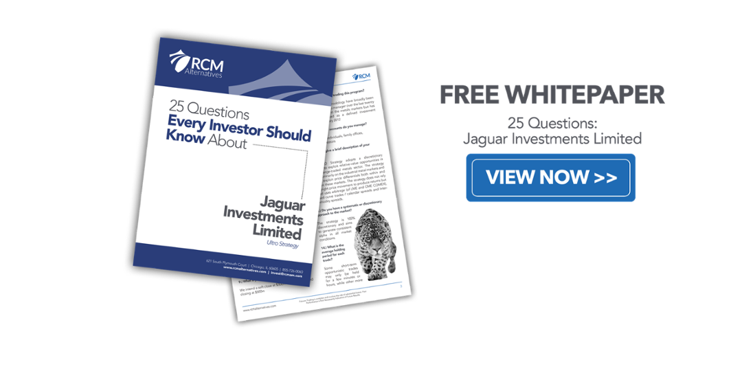 Jaguar Limited Investments 25 Questions Thank You