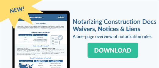 Download Notarizing Construction Docs Overview