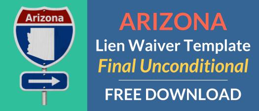 Arizona Waiver Final Unconditional