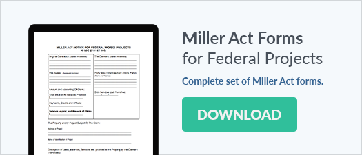 Make Sure Your Miller Act Notice Is Done Right!