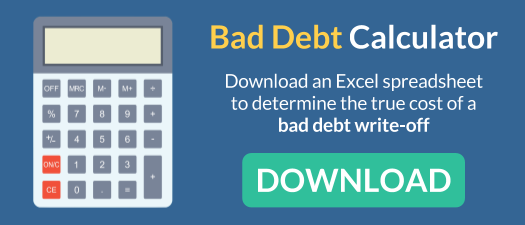 download a free bad debt calculator