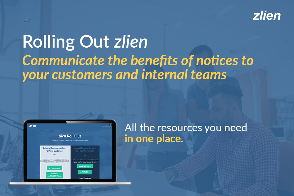 Rolling Out zlien: Communicating the Benefits