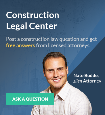 Post a construction law question and get free answers from licensed attorneys