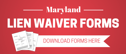 Maryland lien waiver faqs and resources download maryland lien waiver forms maxwellsz